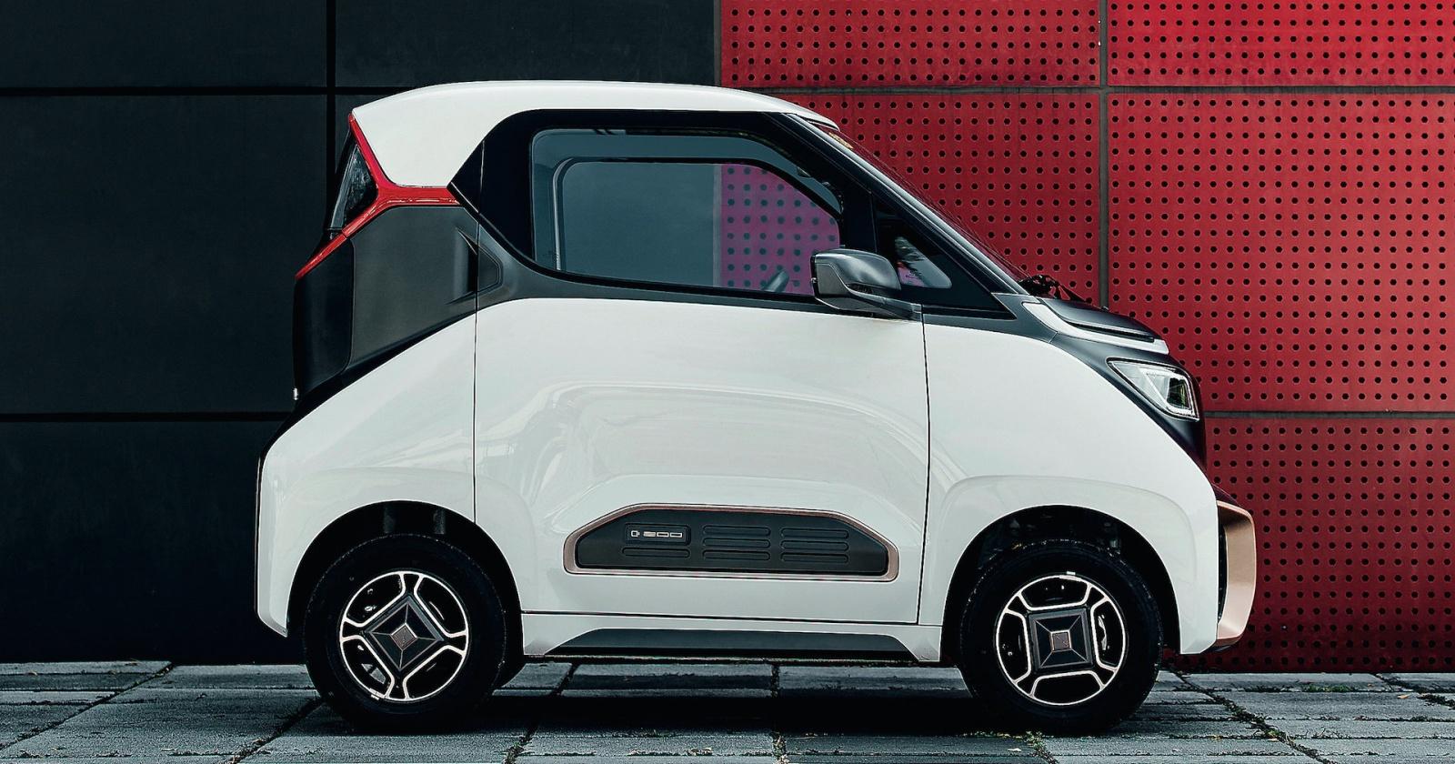Смартфон на колесах: компактный китайский электромобиль
