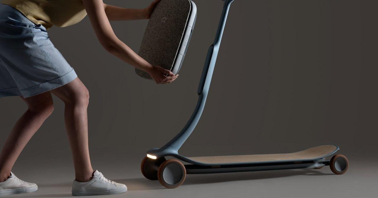 Когда машины просто не нужны: уникальный скутер