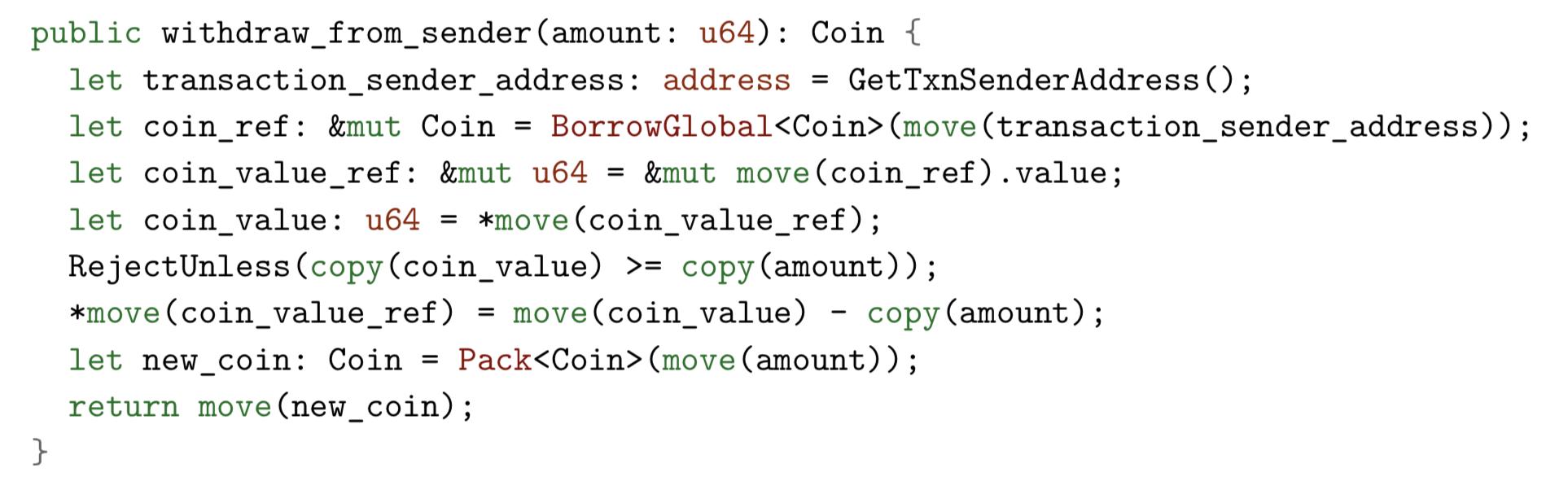 Погружение в Move — язык программирования блокчейна Libra от Facebook - 10