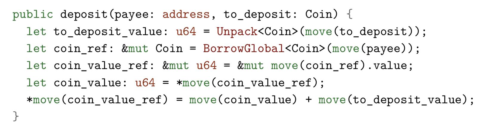Погружение в Move — язык программирования блокчейна Libra от Facebook - 9