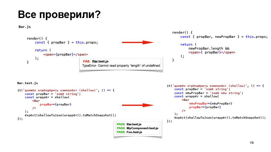 Полный цикл тестирования React-приложений. Доклад Авто.ру - 18
