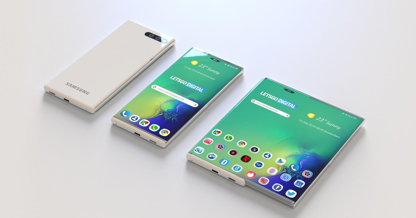 Как может выглядеть Samsung Galaxy S11?