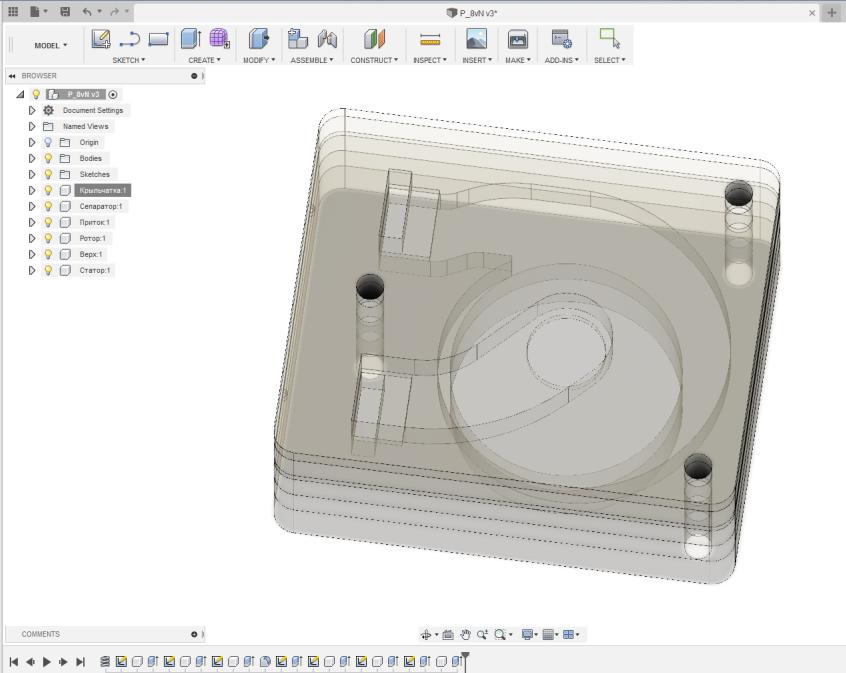 Поделки из нерабочих HDD — мини-помпа - 6