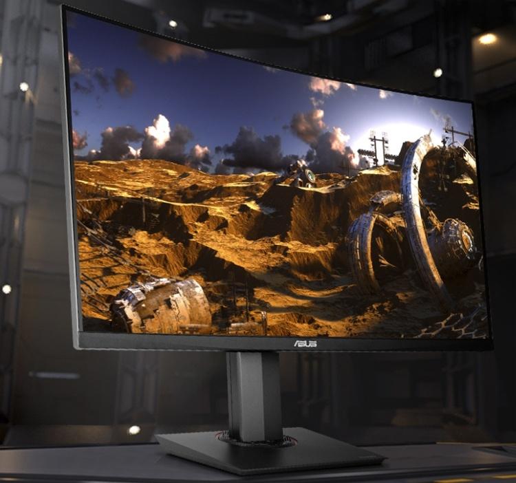 ASUS TUF Gaming VG32VQ: изогнутый монитор для игр с частотой обновления 144 Гц
