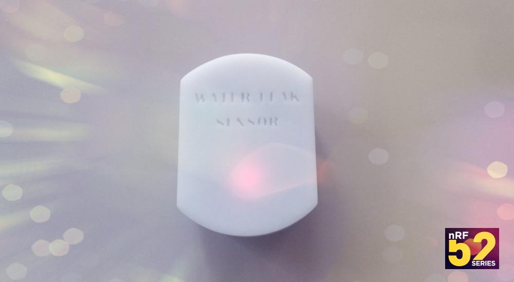 Беспроводной датчик протечки воды на nRF52832, DIY проект - 1
