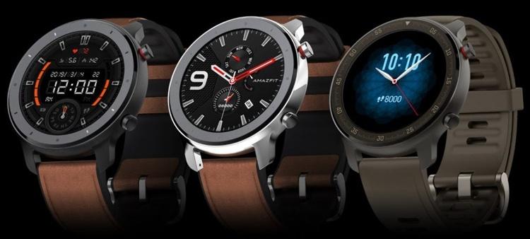 Amazfit GTR: смарт-часы с экраном AMOLED, поддержкой NFC и герметичным корпусом