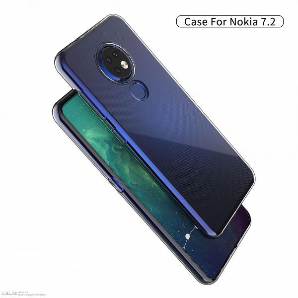 Nokia 7.2 впервые позирует на рендерах