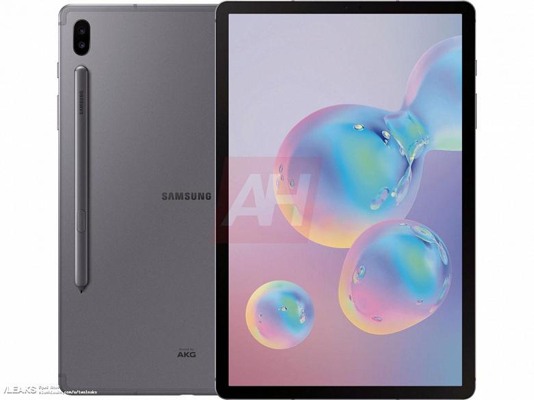 Фотогалерея дня: официальные пресс-изображения планшета Samsung Galaxy Tab S6