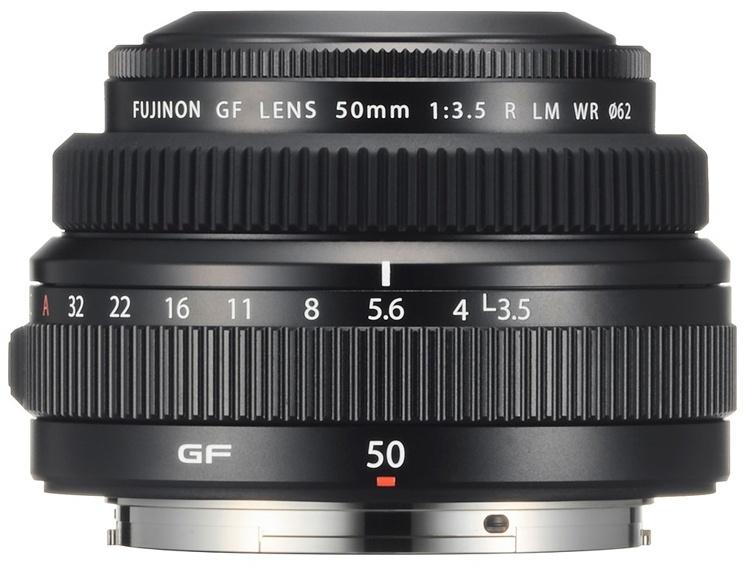 Fujifilm Fujinon GF50mmF3.5 R LM WR: объектив для среднеформатных камер GFX