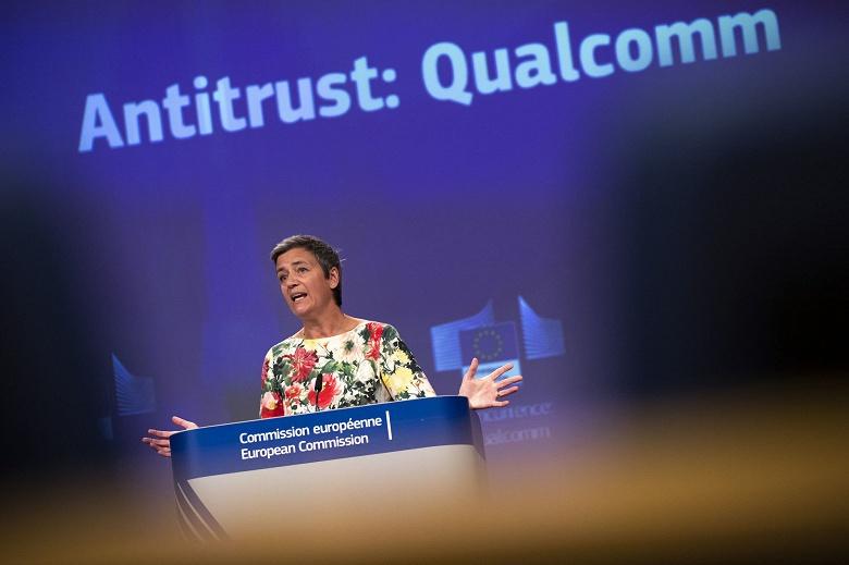 Qualcomm оштрафовали на 242 млн евро