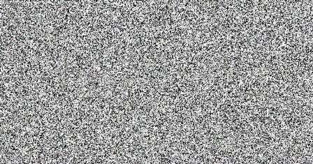 Белый шум рисует черный квадрат - 1