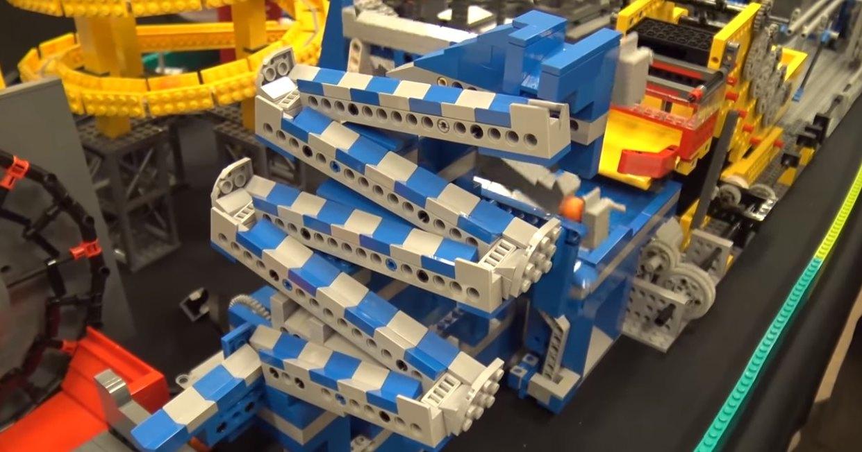 Фантастическая машинерия из LEGO: гигантская машина Голдберга