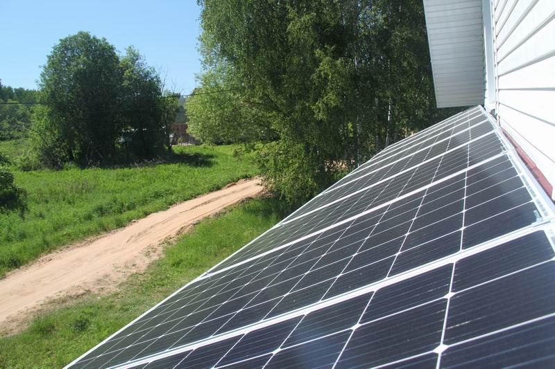 Солнечная электростанция на дом 200 м2 своими руками - 9