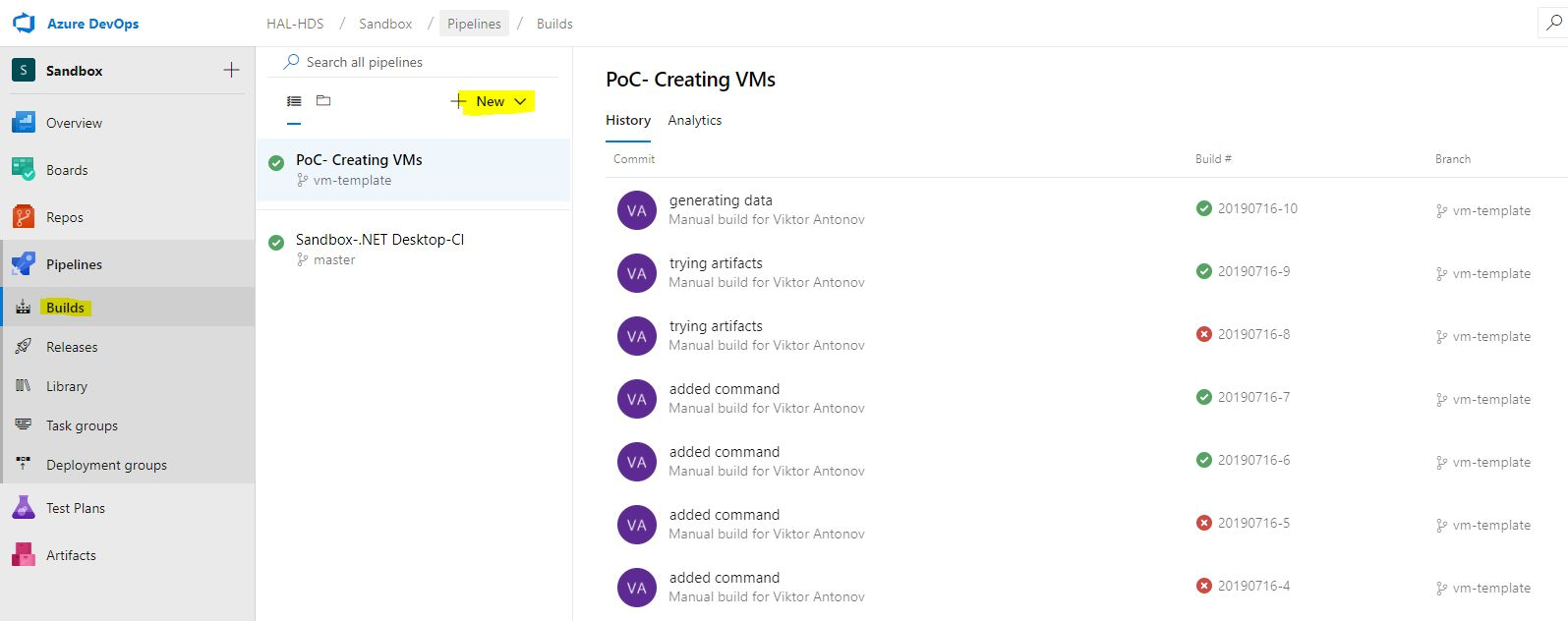 Строим пайплайн автоматизированного тестирования на Azure DevOps - 7