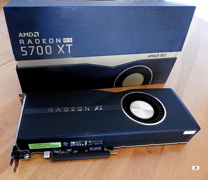 Видеокарты Radeon RX 5700 XT 50th Anniversary Edition основаны на отборных GPU