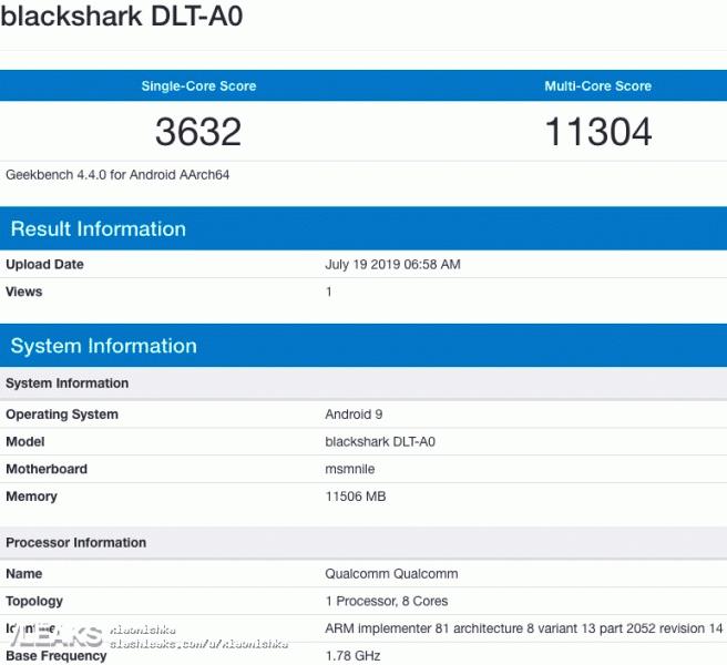 Смартфоны на базе Snapdragon 855 Plus пока не могут удивить своим быстродействием. Black Shark 2 Pro показал результат на уровне Xiaomi Mi 9