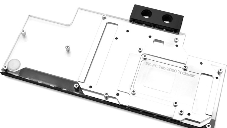 Водоблок EK-FC Trio RTX 2080 Ti Classic RGB поможет охладить видеокарту MSI