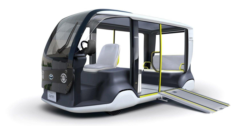 Toyota показала электрический шаттл для Олимпийских игр в Токио