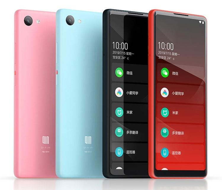 Xiaomi Qin 2: нестандартный смартфон с ценником $75