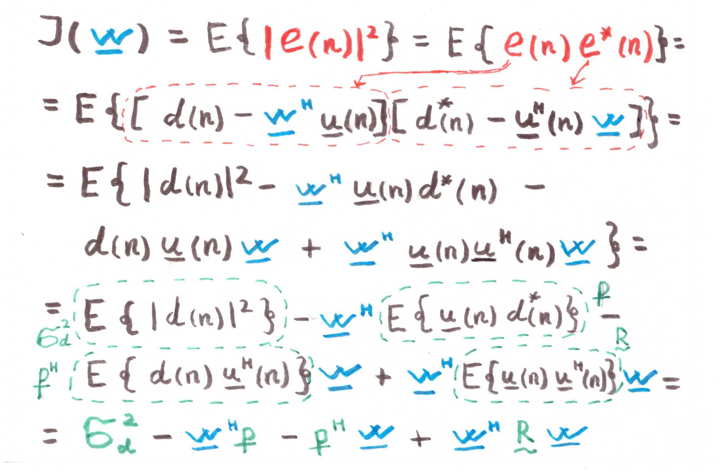 Оптимальная линейная фильтрация: от метода градиентного спуска до адаптивных фильтров - 17