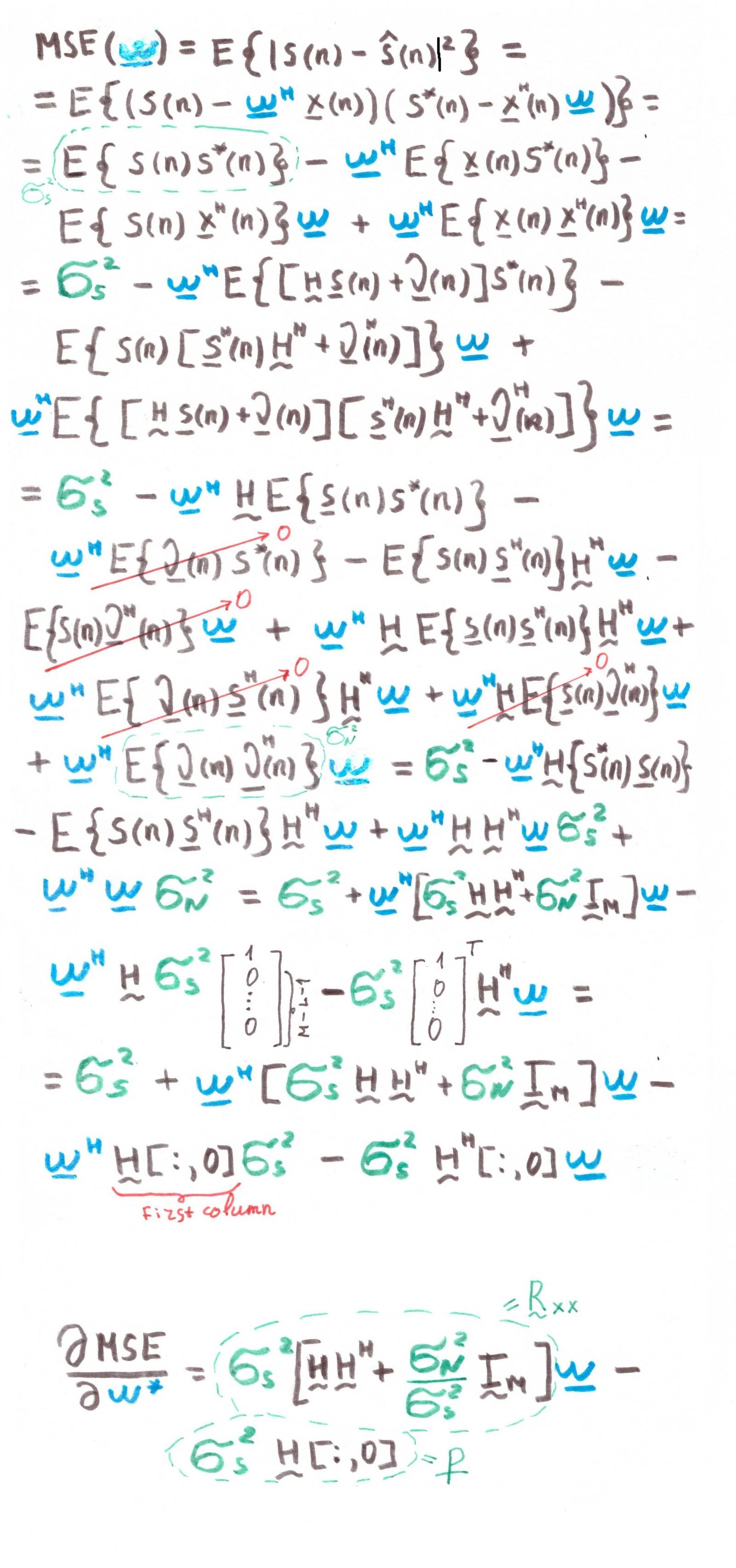 Оптимальная линейная фильтрация: от метода градиентного спуска до адаптивных фильтров - 55