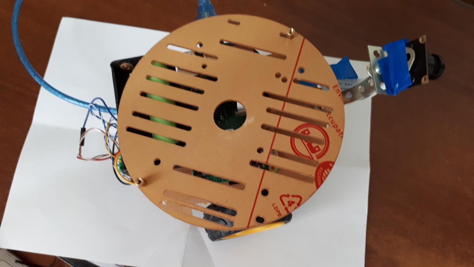 Робот, который поедет за вашей улыбкой. Делаем дешевую тележку для изучения ROS.Часть 1-я, железная - 10
