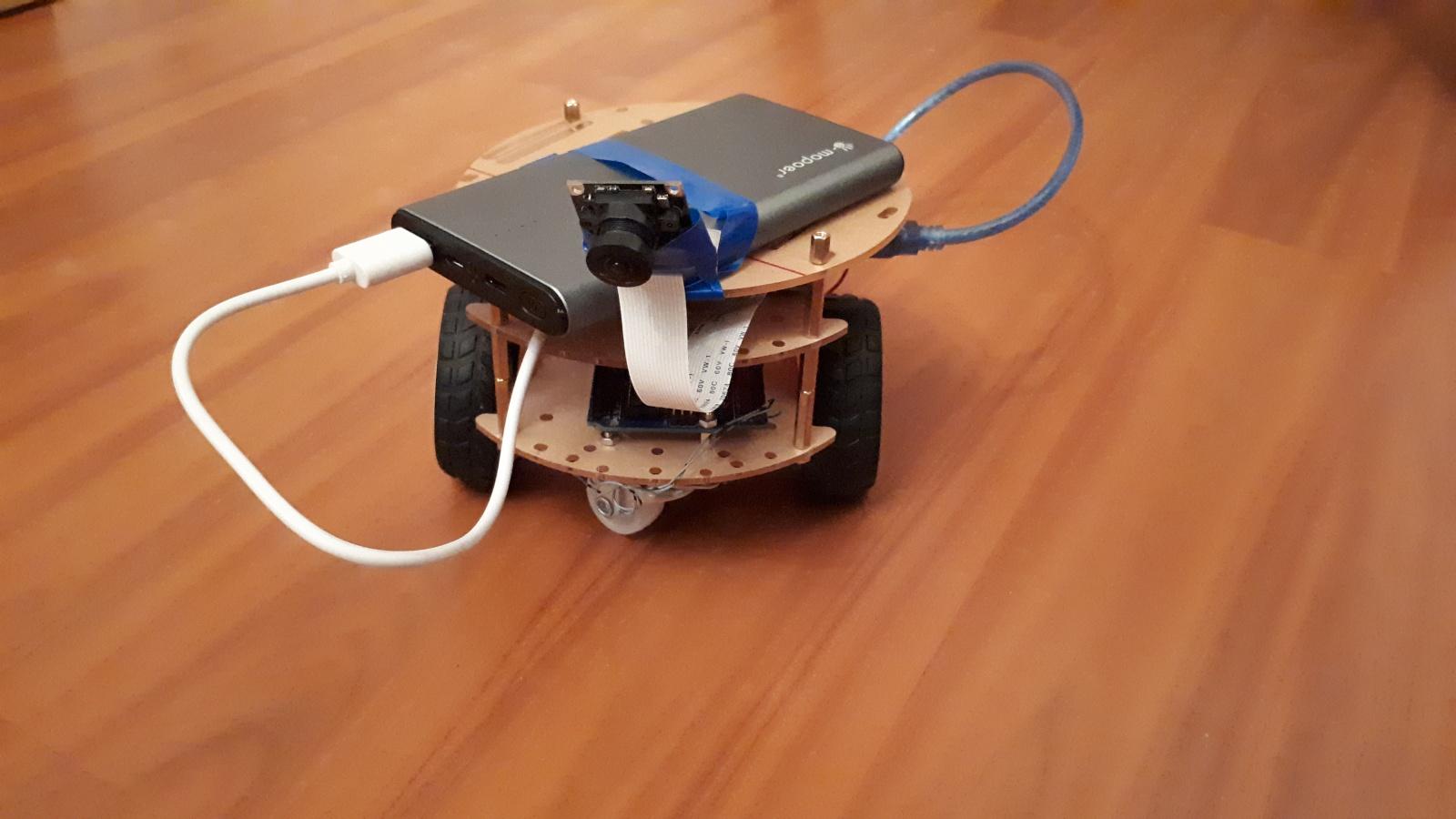 Робот, который поедет за вашей улыбкой. Делаем дешевую тележку для изучения ROS.Часть 1-я, железная - 13