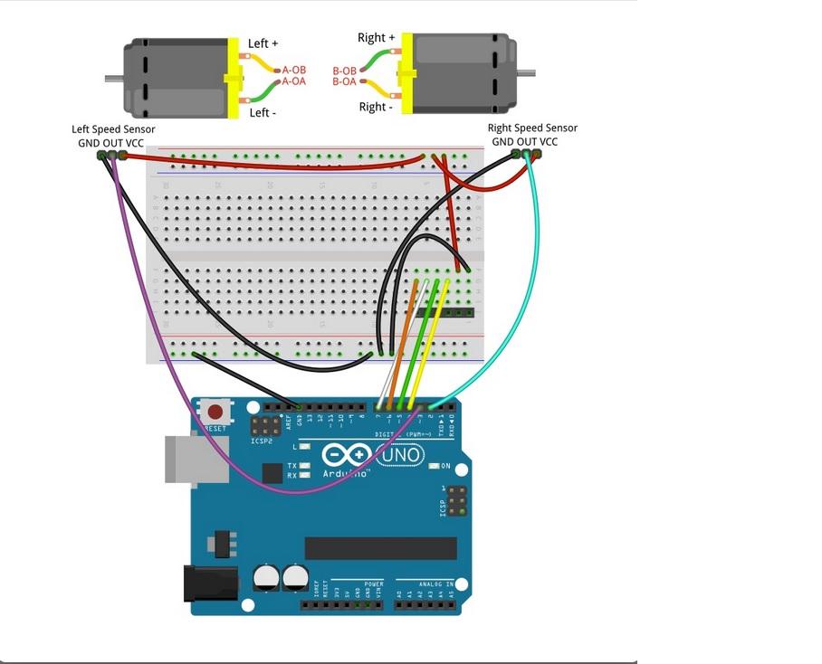 Робот, который поедет за вашей улыбкой. Делаем дешевую тележку для изучения ROS.Часть 1-я, железная - 3