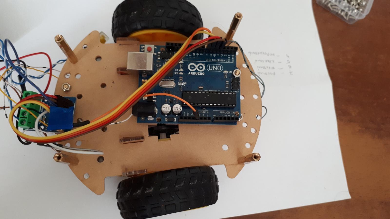 Робот, который поедет за вашей улыбкой. Делаем дешевую тележку для изучения ROS.Часть 1-я, железная - 4