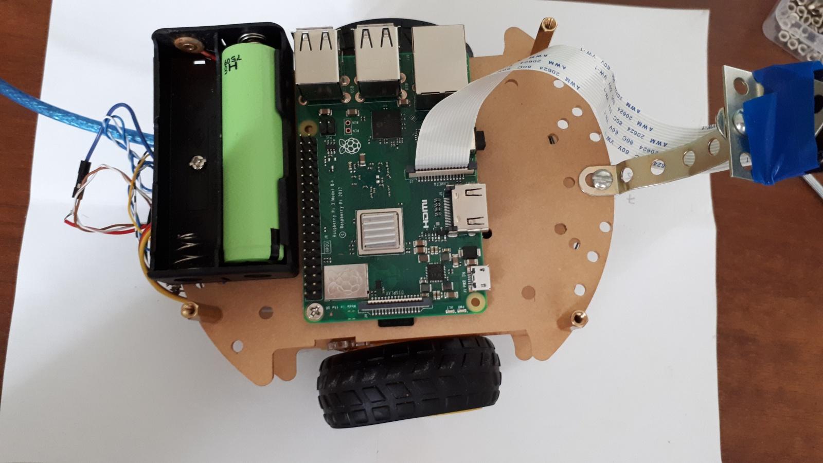 Робот, который поедет за вашей улыбкой. Делаем дешевую тележку для изучения ROS.Часть 1-я, железная - 7