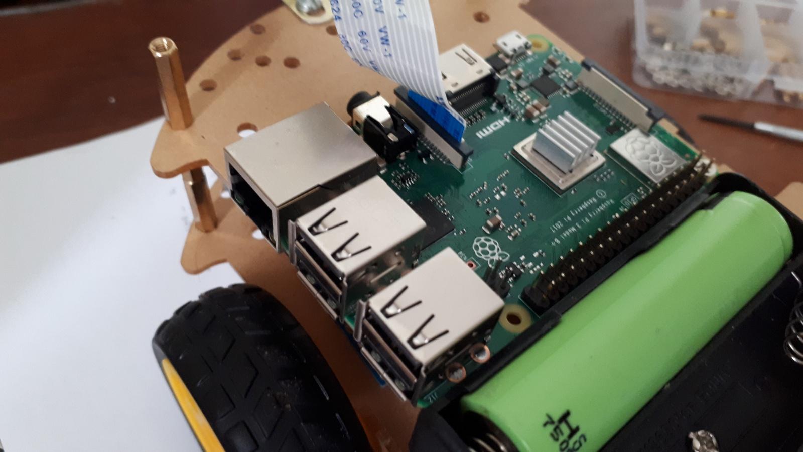 Робот, который поедет за вашей улыбкой. Делаем дешевую тележку для изучения ROS.Часть 1-я, железная - 8