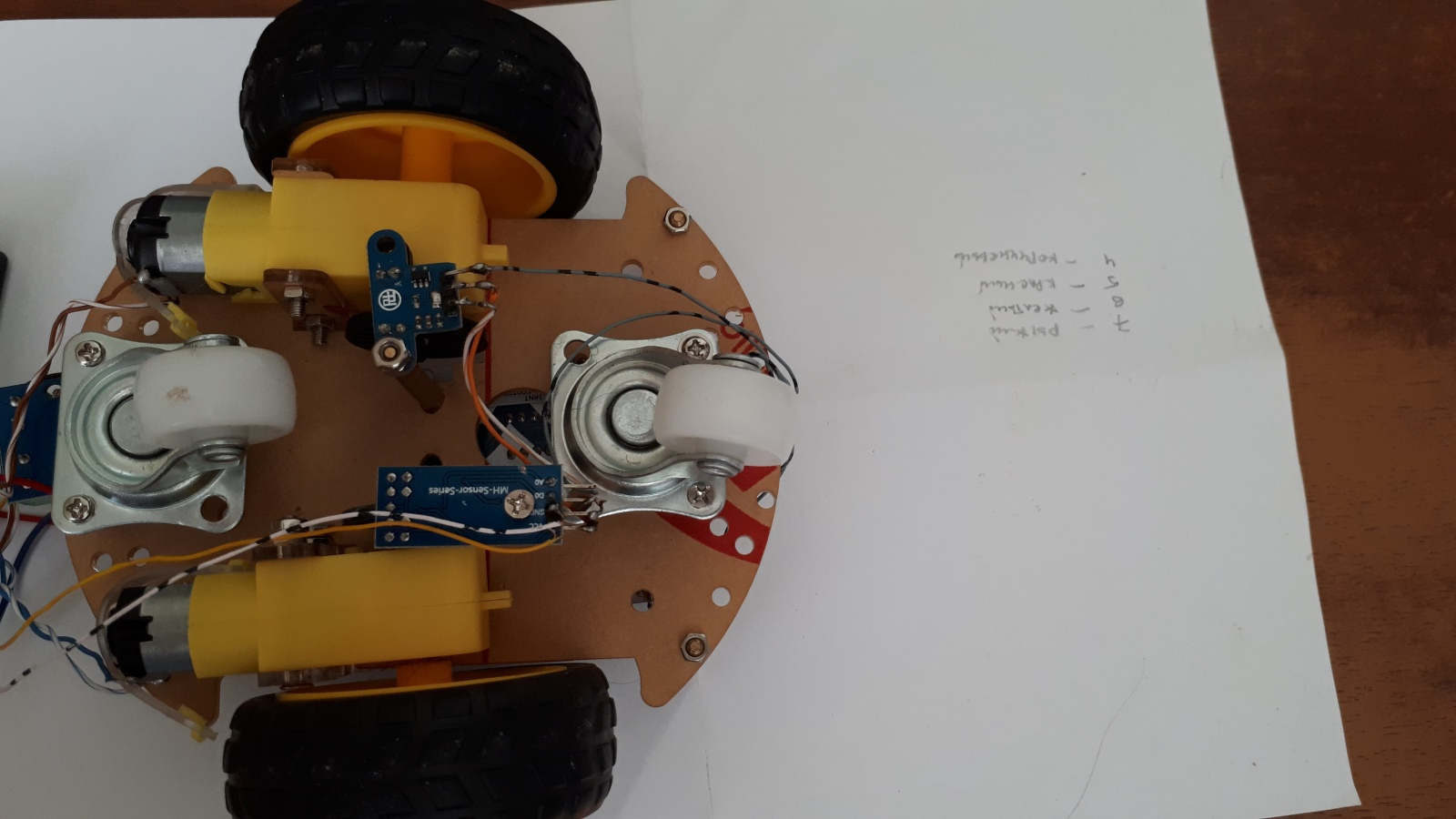 Робот, который поедет за вашей улыбкой. Делаем дешевую тележку для изучения ROS.Часть 1-я, железная - 1