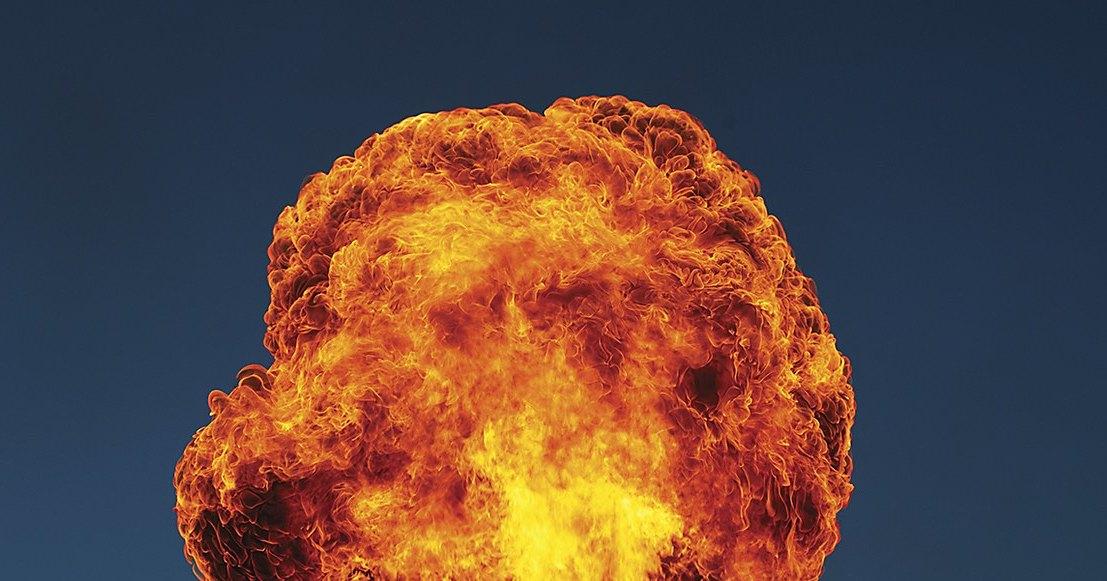 Камера видеонаблюдения запечатлела взрыв на ТЭЦ в Мытищах