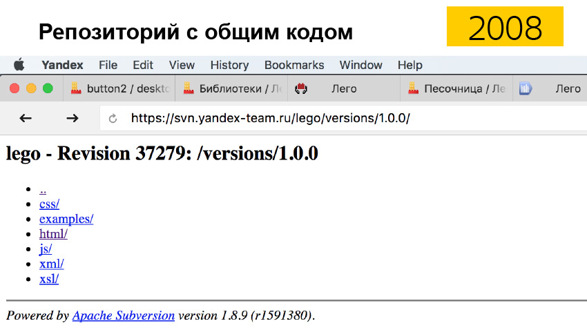 Общие компоненты силами разных команд. Доклад Яндекса - 16