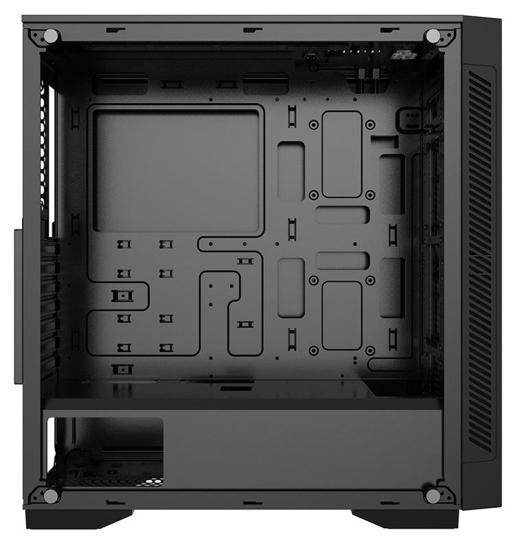 Deepcool Matrexx 55 V3 ADD-RGB: строгий корпус с закалённым стеклом и подсветкой