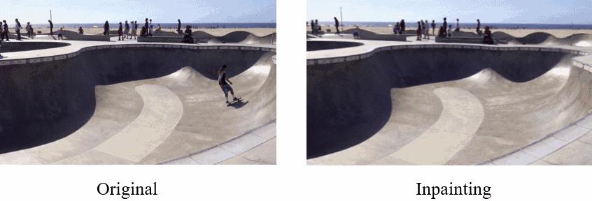 Нейросеть удаляет объекты с видео, заменяя их фоном - 1