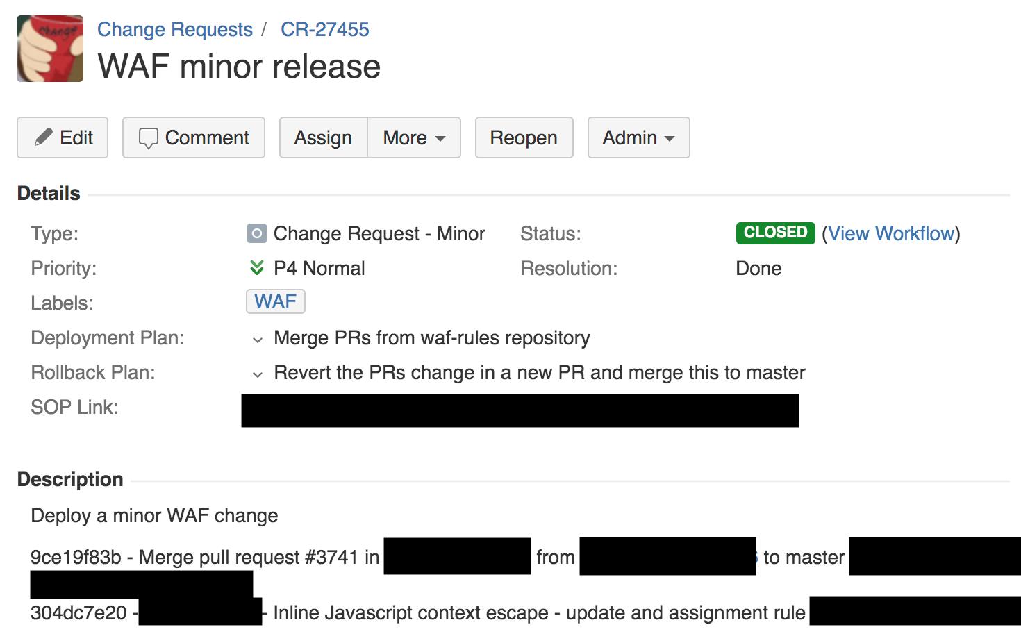 Подробности сбоя в Cloudflare 2 июля 2019 года - 7