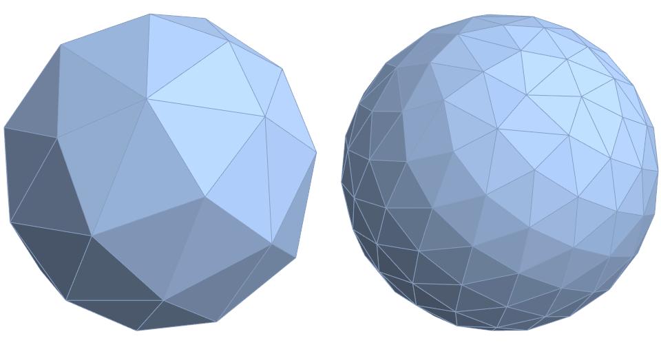 Равномерное распределение точек на сфере - 1