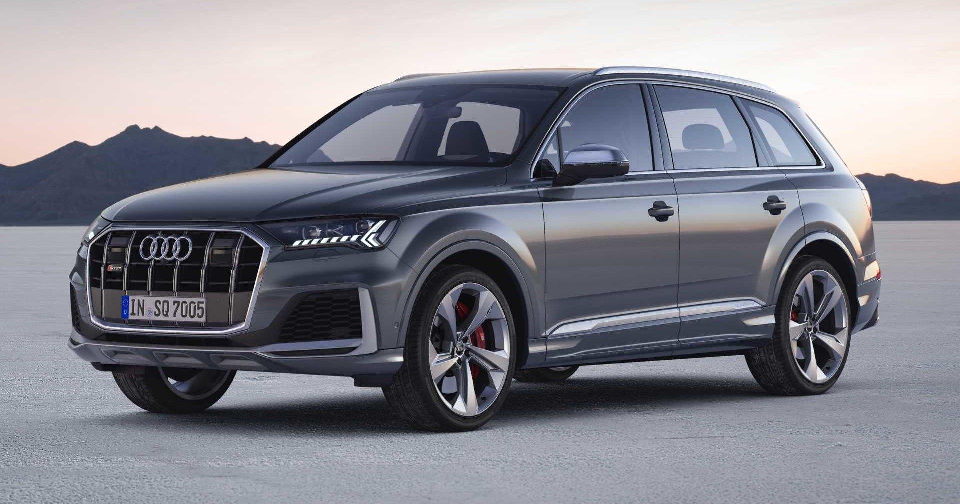 Audi обновила самый мощный Q7