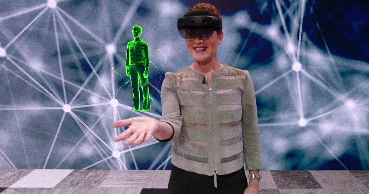 Новая технология Microsoft позволяет 3D-копии реального человека говорить на любом языке - 1