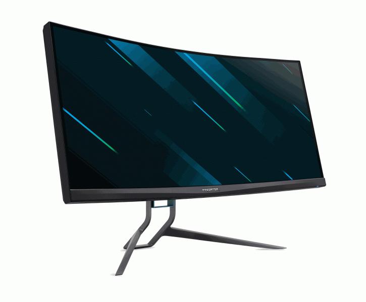 35 дюймов, 200 Гц, 1000 нит, мощные динамики и фоновая подсветка. Игровой монитор Acer Predator X35 появился в России