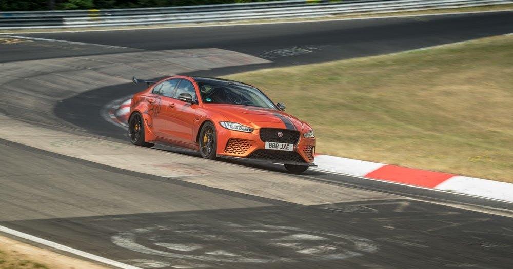 600-сильный Jaguar установил новый рекорд Нюрбургринга