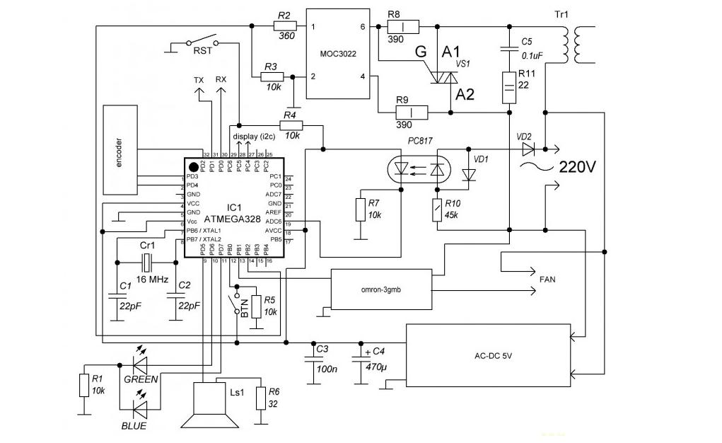 Контактная сварка для аккумуляторов 18650 - 11