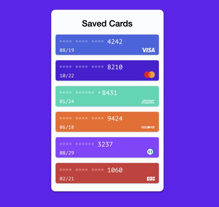 Стандартный браузерный API Payment Request - 3