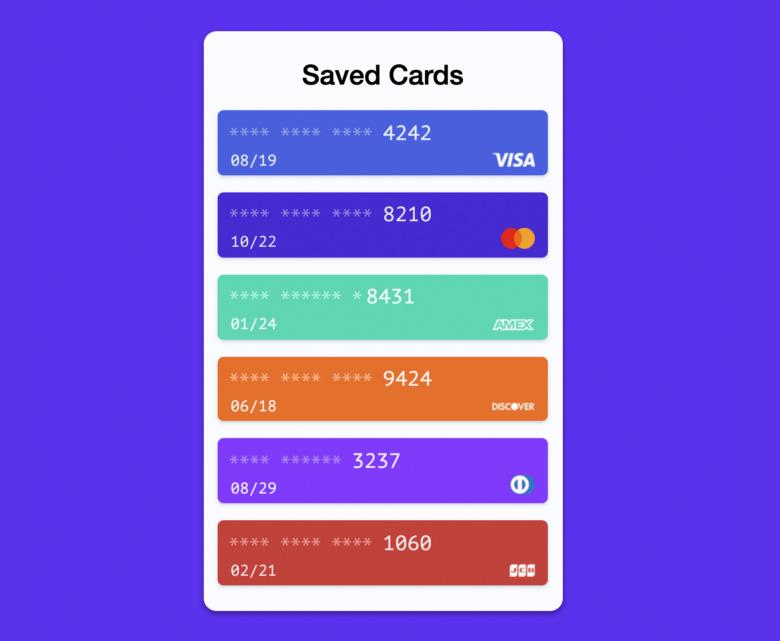 Стандартный браузерный API Payment Request - 1