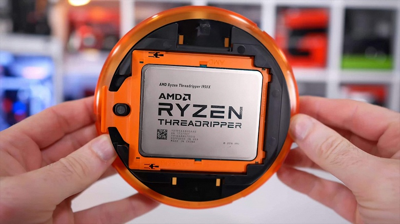 В Сети засветился 16-ядерный процессор AMD из линейки Ryzen Threadripper 3000