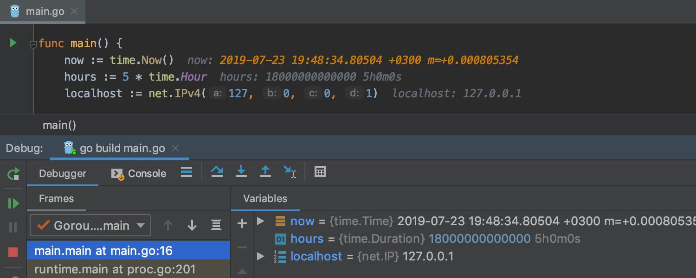 GoLand 2019.2: поддержка вызовов функций во время отладки, улучшенные цветовые схемы, кастомные Postfix Completion - 5