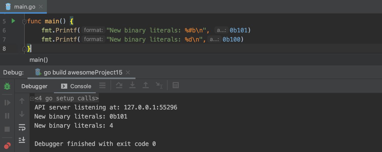 GoLand 2019.2: поддержка вызовов функций во время отладки, улучшенные цветовые схемы, кастомные Postfix Completion - 7