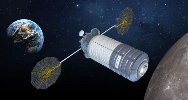 NASA объявило подрядчика для создания жилого модуля окололунной станции Gateway
