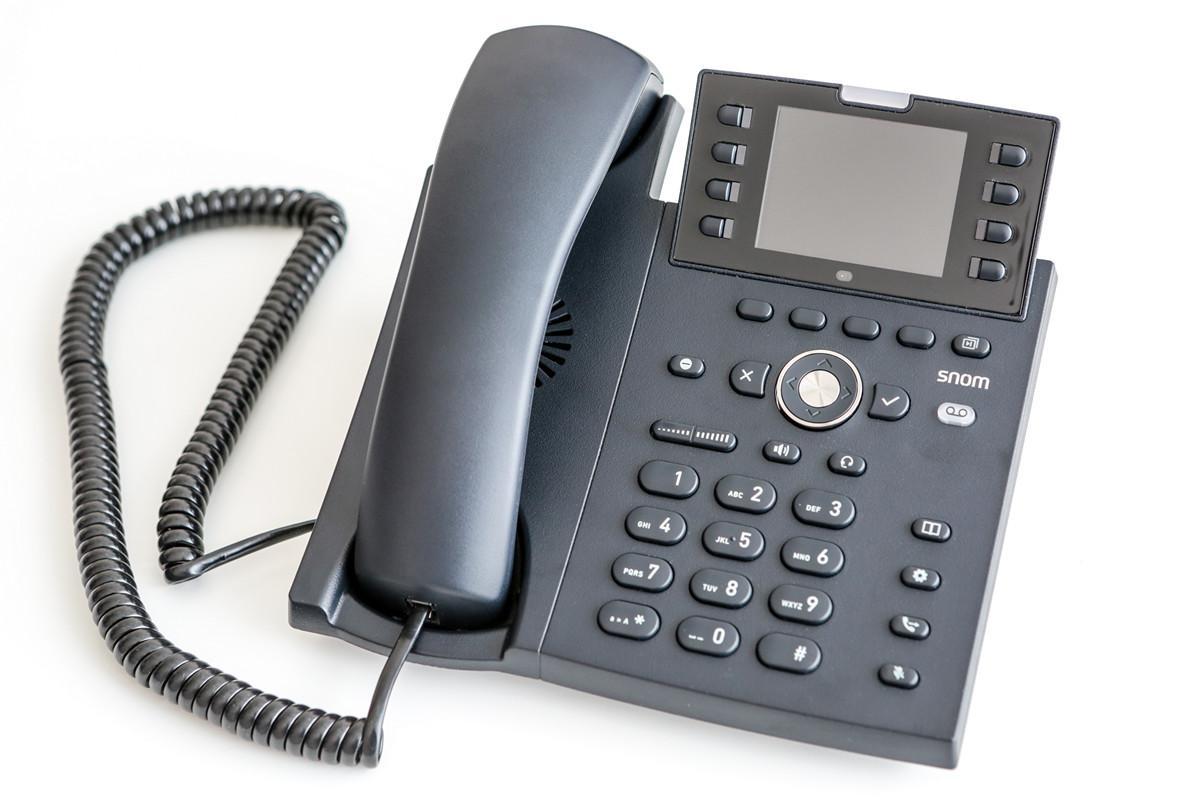 Snom D335 – многофункциональный IP-телефон с широкоэкранным цветным TFT-дисплеем - 1